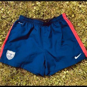 NIKE dri fit soccer Soccer shorts Size:Lg